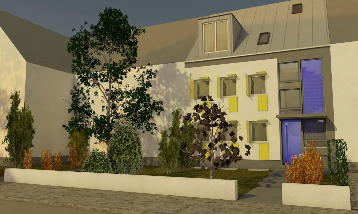 Modernisierung Stadthaus 60er Jahre Bild 2