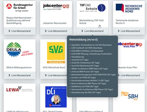 1. Digitale Weiterbildungsmesse für Norddeutschland am 25.02.2021