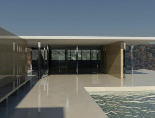 3ds Max: Barcelona Pavillon