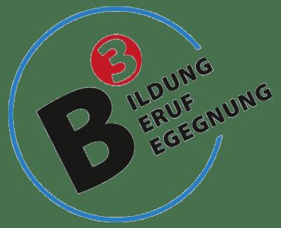 B_hoch_3 Logo