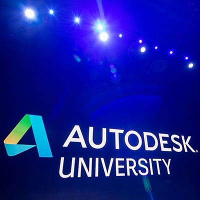 Beitragsbild Autodesk University Logo
