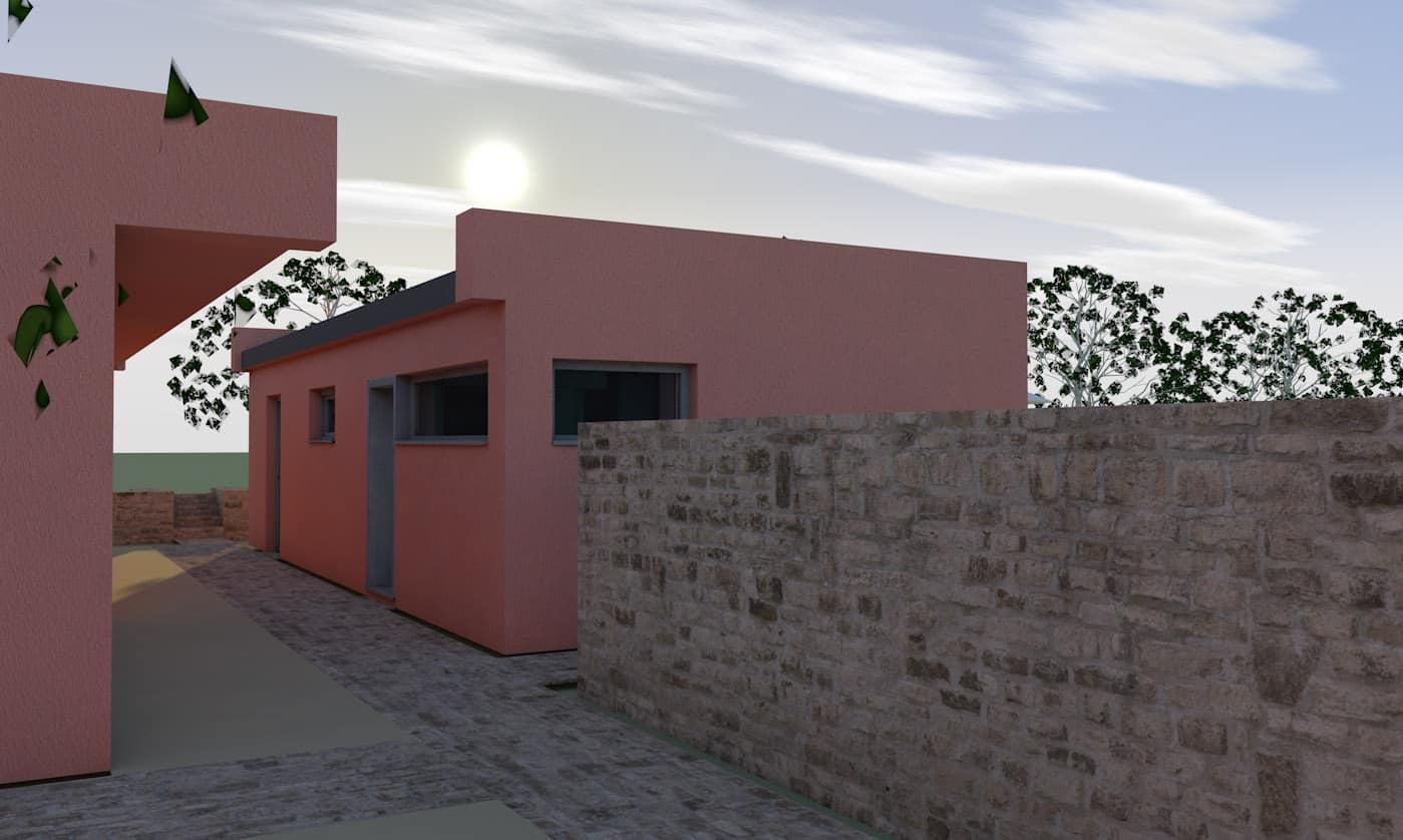 Bild Entwurf Gästehaus 3