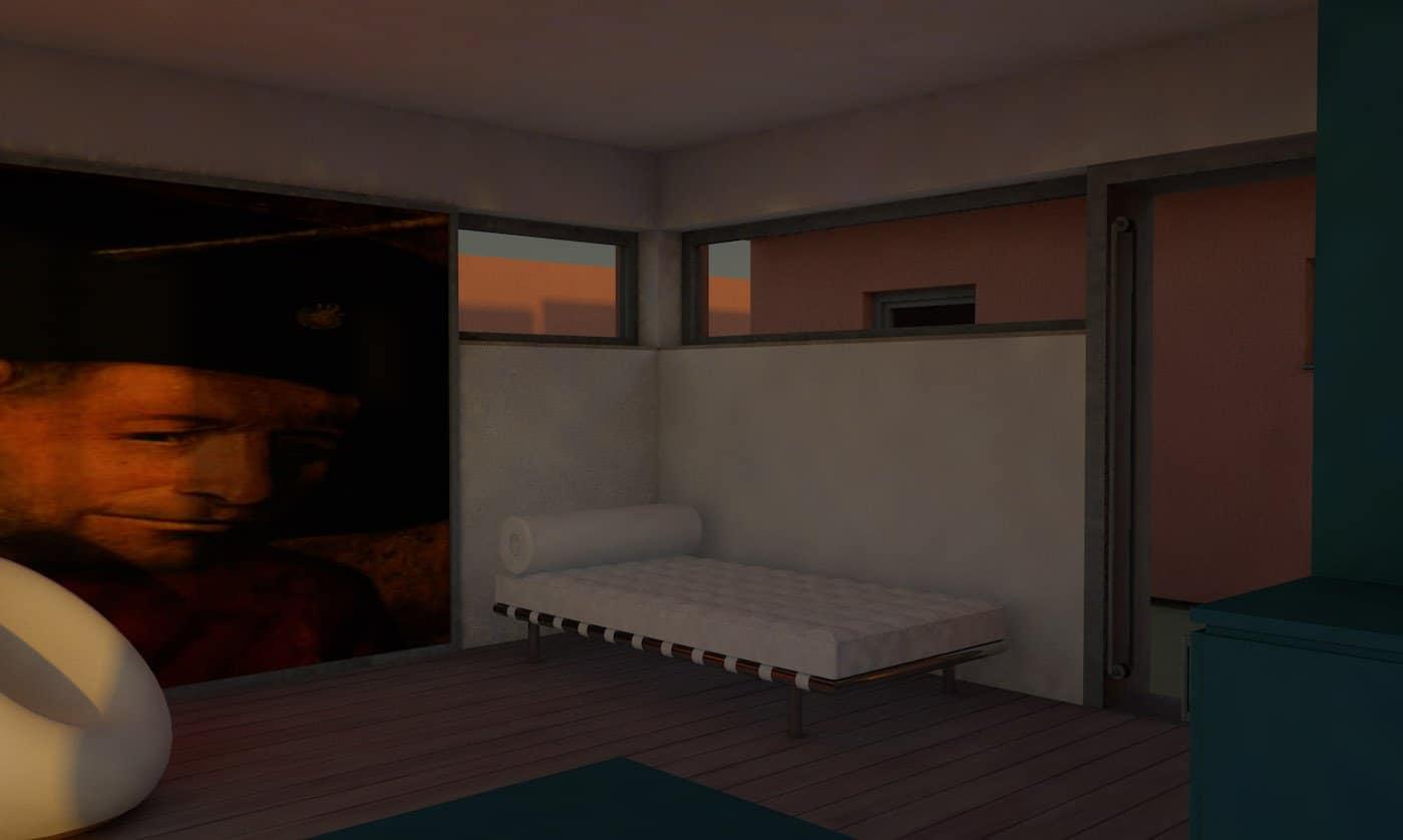 Bild Entwurf Gästehaus 8