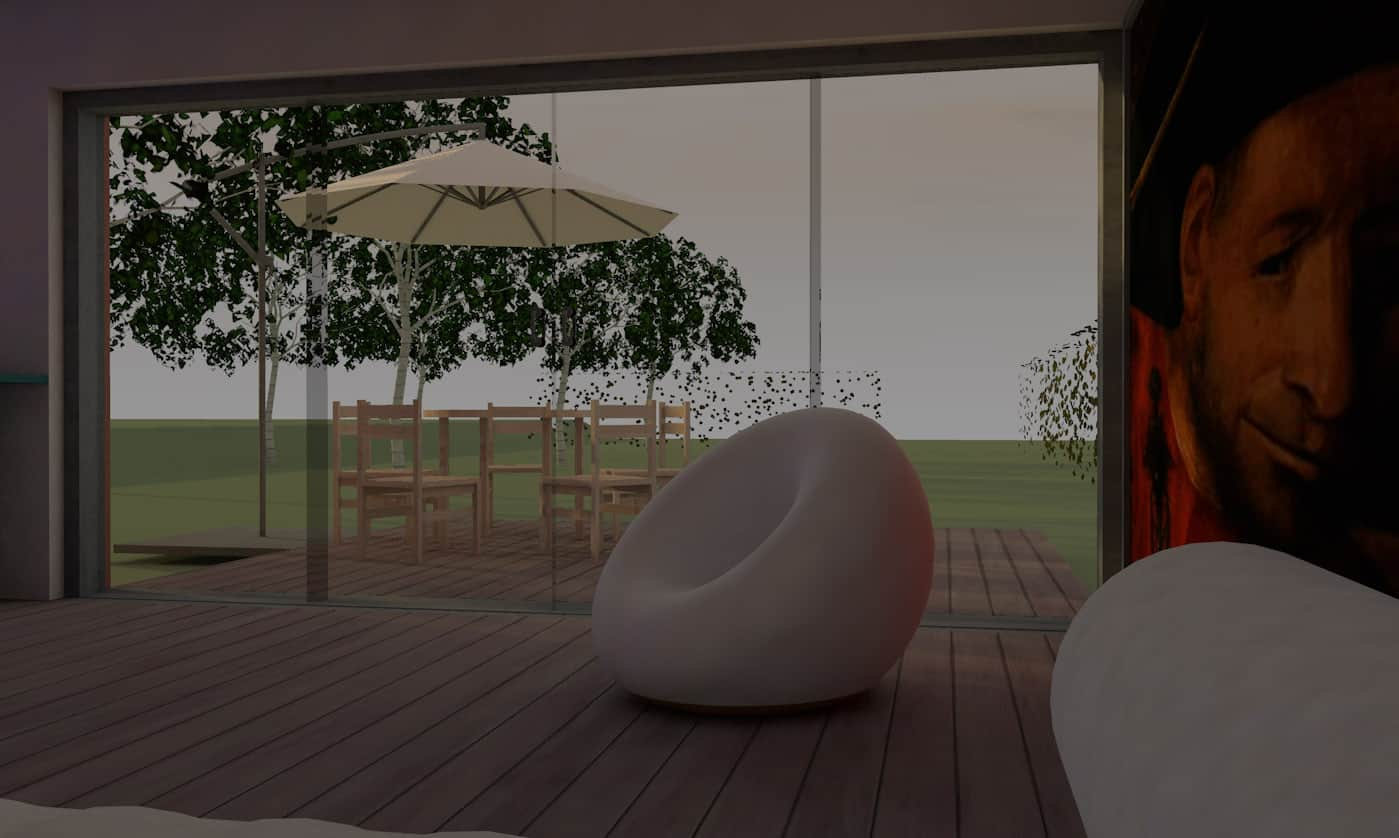 Bild Entwurf Gästehaus 9