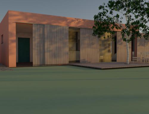Konzeptstudie Gästehaus