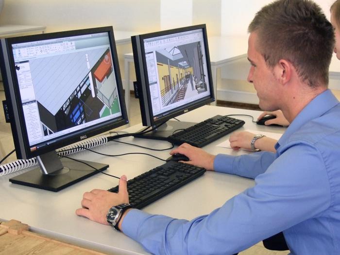 Imagebild für Architektur Weiterbildung am PC