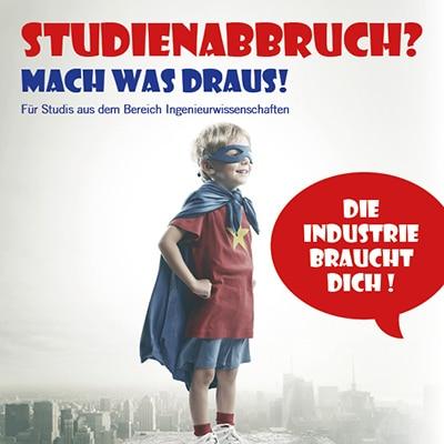 Plakat Studienabbrecher